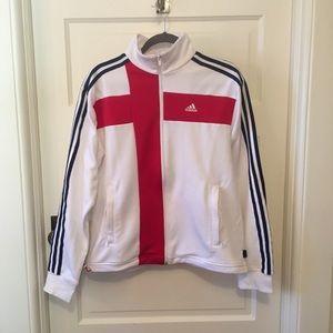 England Soccer Zipup